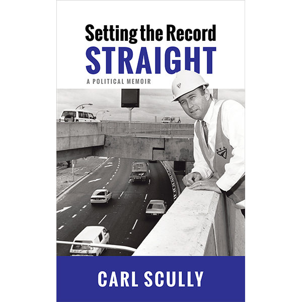 Book Setting the Record Straight - Carl Scully